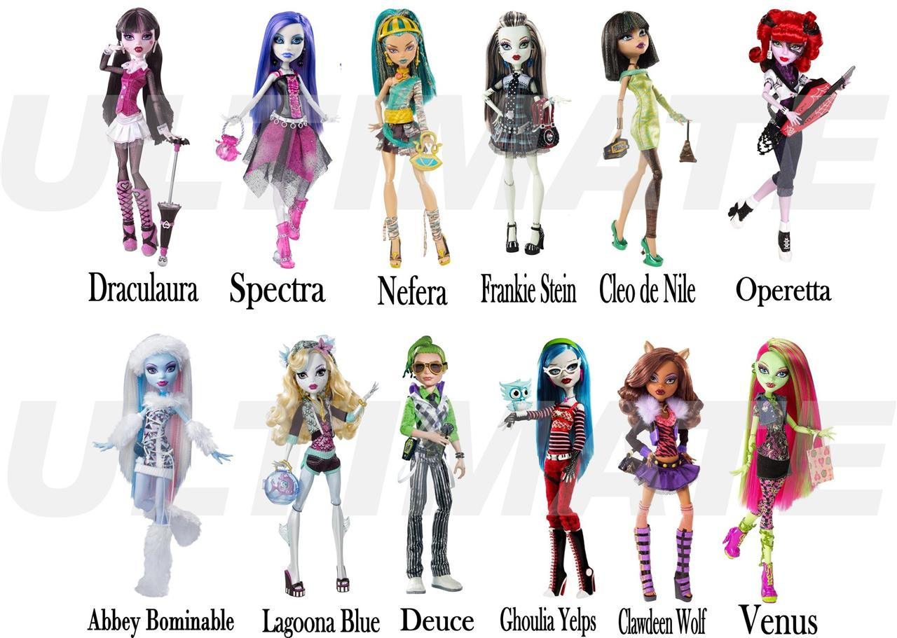 monster high dolls names list auto design tech