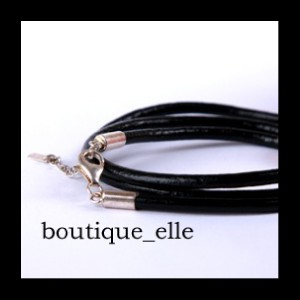 GENUINE-LEATHER-CHARM-BEAD-CHARM-BRACELET-SS-925-20cm