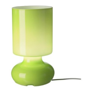 details about ikea bedside table lamp mouth blown glass lime green bn. Black Bedroom Furniture Sets. Home Design Ideas