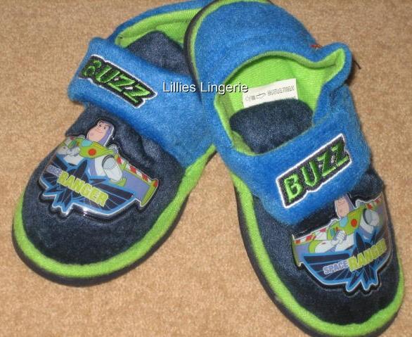Toy Story Slippers : Boys toy story buzz lightyear slippers