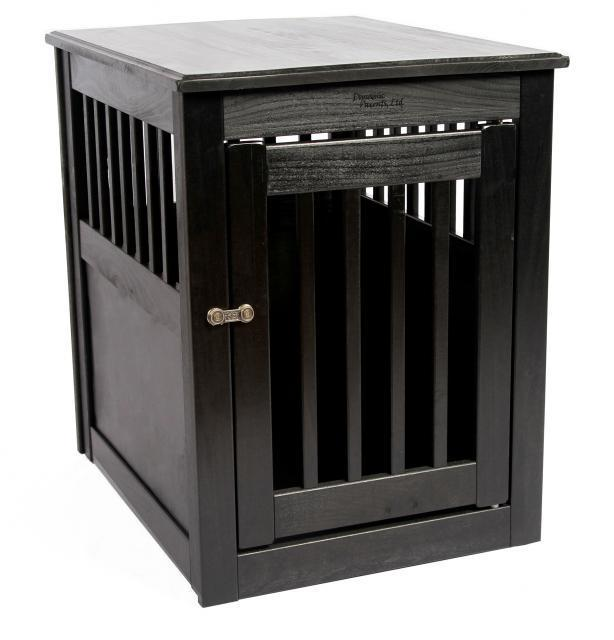furthermore Bedside Table Dog House likewise Dog Crate End Table ...
