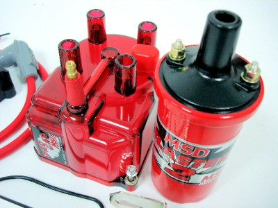 how to clean distributor cap