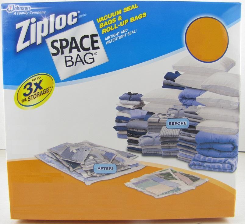 3 Original Vacuum Seal Space Bags Storage Saver Saving
