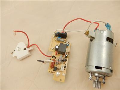 Shark rotator floor brush motor circuit nv501 nv500 uv560 for Shark vacuum motor replacement