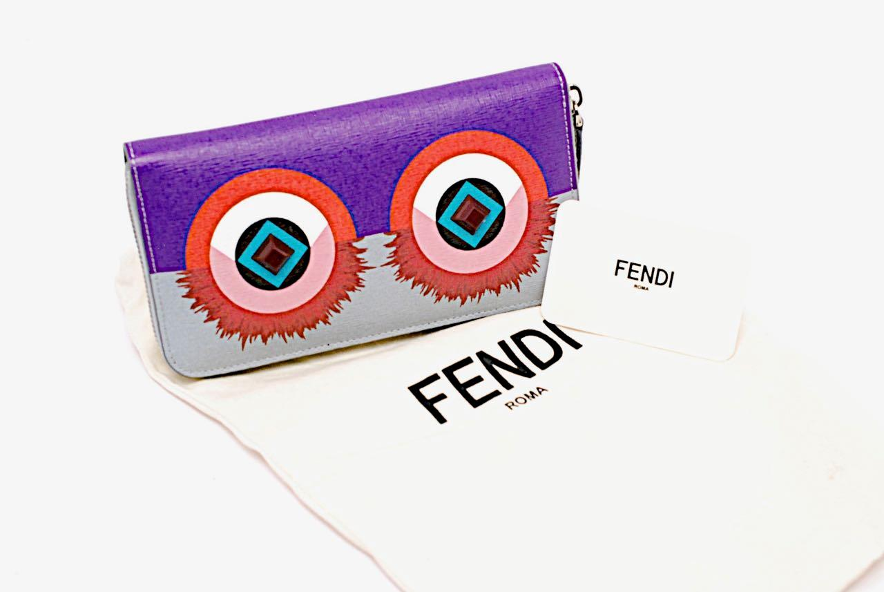 Fendi Crayons Clutch