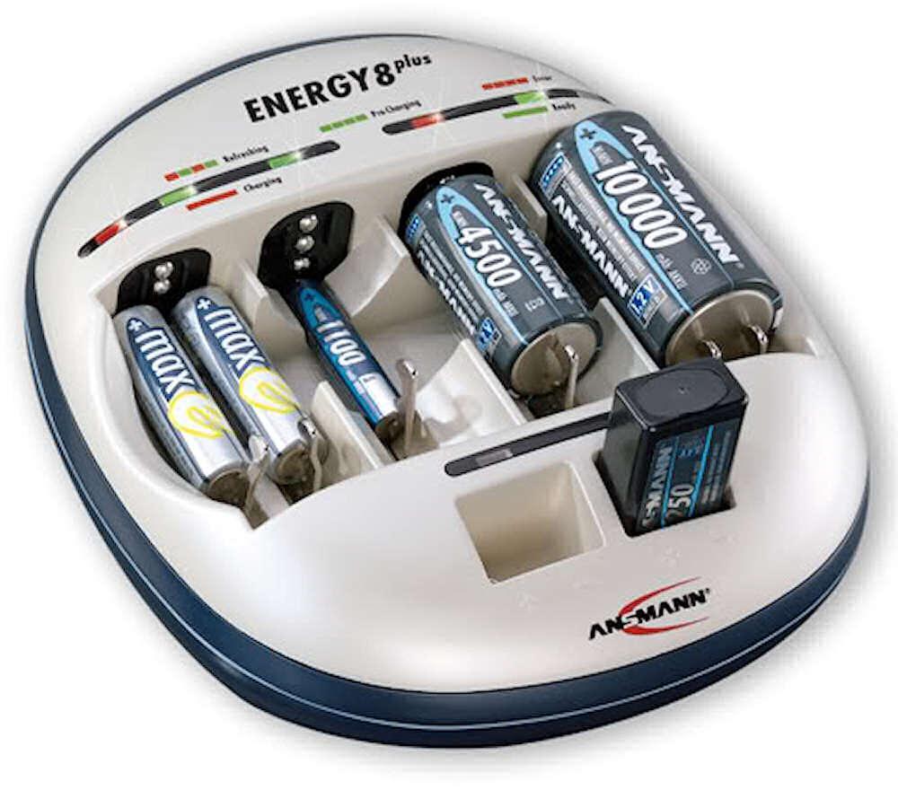 ansmann intelligent energy 8 plus cell battery charger ebay. Black Bedroom Furniture Sets. Home Design Ideas
