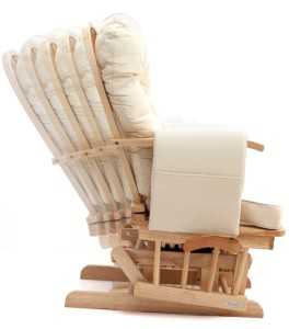Sereno Nursing Glider maternity rocking chair with