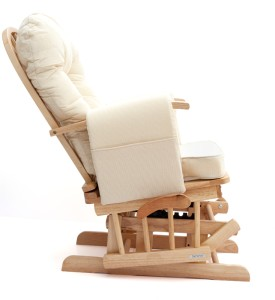 ... natural wood or white) Nursing Glider maternity rocking chair SRP£299