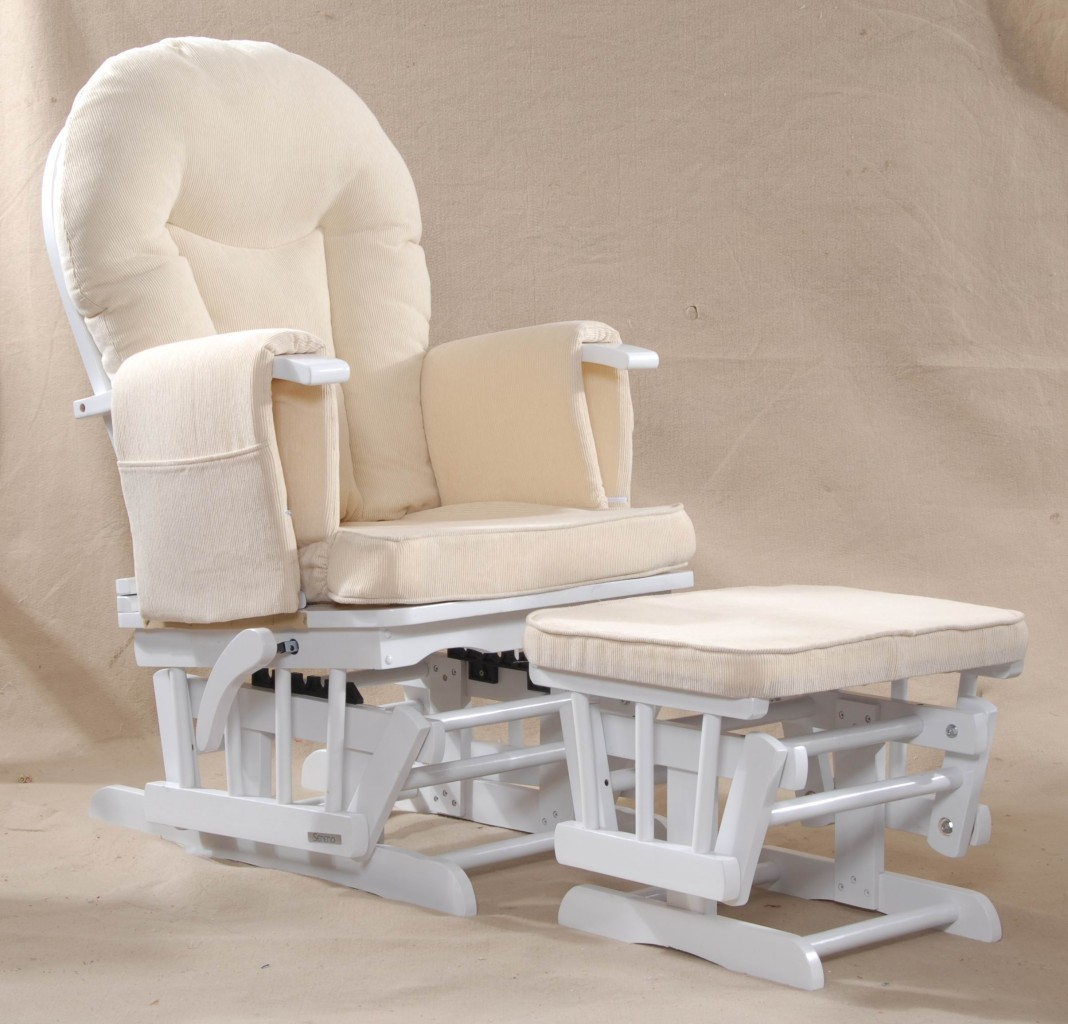 Sereno White Glider Maternity Rocking Chair My Glider Rocking Chair Reviews
