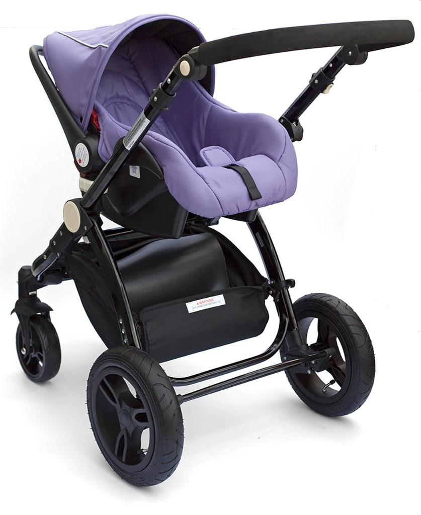 bambini citt purpureo purple stroller pushchair srp 299. Black Bedroom Furniture Sets. Home Design Ideas