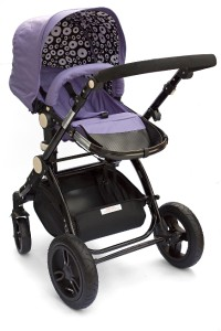 bambini citt purpureo purple pram stroller pushchair with car seat srp 469 ebay. Black Bedroom Furniture Sets. Home Design Ideas