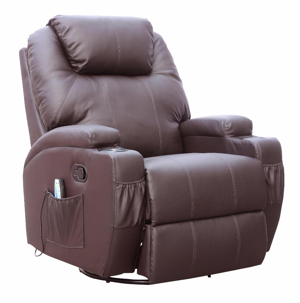 leather recliner gaming chair options rocking massage electric lift
