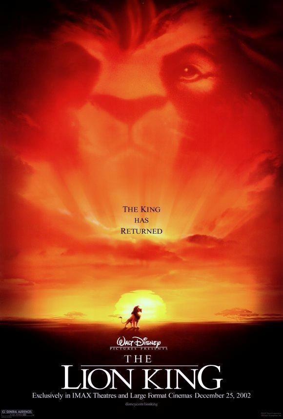 THE Lion King Movie Poster 27 X 40 Matthew Broderick ...