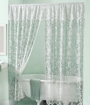 Sheer Lace Shower Curtains - Best Curtains 2017