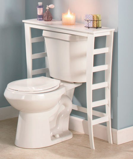 Innovative Small White Round Table Design Storage For Small Bathroom  SayLeng