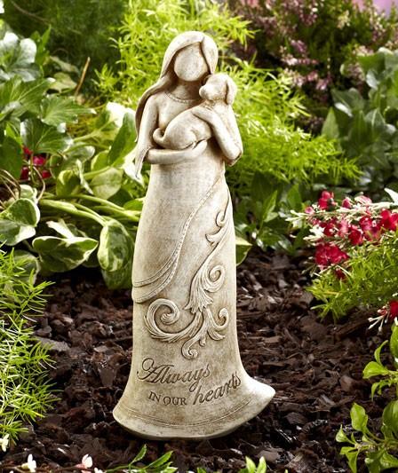 NEW Loyal Pet Angel Cat pr Dog Memorial Garden Statue Grave Marker