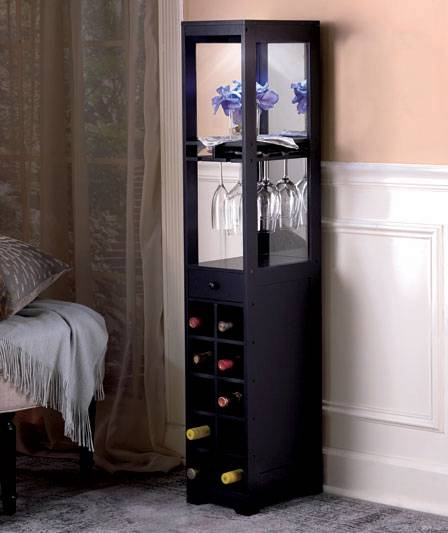 New slimline ultra slim sleek cedar wood pantry cabinet