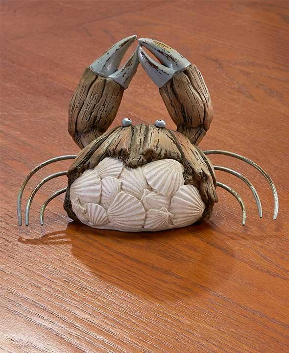 new natural look sea life sculpture statues lobster crab. Black Bedroom Furniture Sets. Home Design Ideas