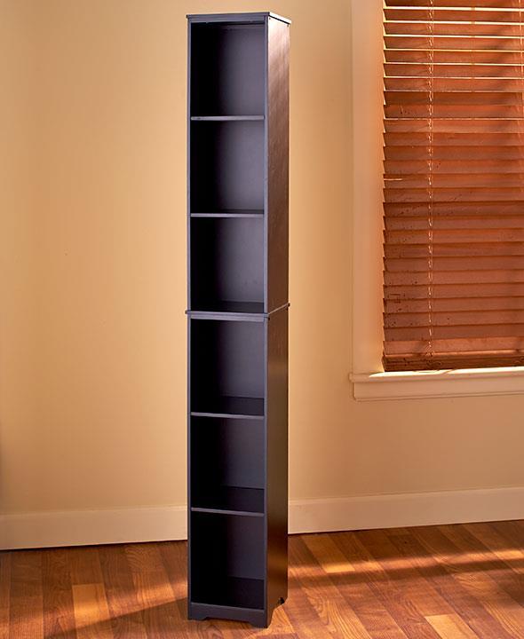 NEW Slim Storage Tower Cabinet Shelf Cubby Seagrass Baskets Kitchen Bathroom