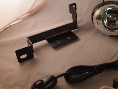 eclipse 95 96 custom driving light kit clear fog lights pair wiring harness oe ebay
