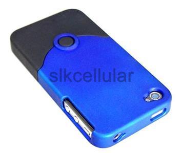 OEM iFROGZ APPLE iPHONE 4 LUXE HARD CASE(BLUE/BLACK)
