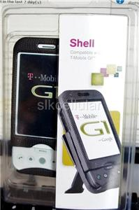 NEW OEM BODYGLOVE T MOBILE HTC G1 BLACK SNAP ON CASE+BELT CLIP