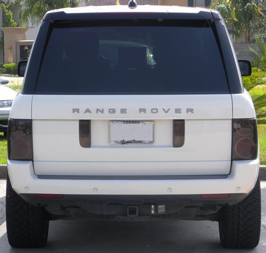 Range Rover Tail Light Smoked Overlay 03 04 05 06 07 08 Ebay