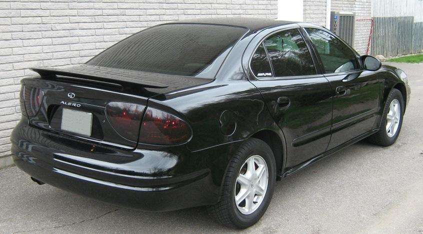 99 04 oldsmobile alero smoke tail light precut tint cover. Black Bedroom Furniture Sets. Home Design Ideas