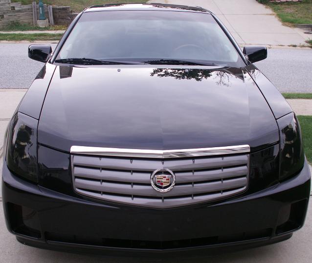 2003 Cadillac Cts Backup Light Cover Headlight Covers 03 07 Cadillac cts Smoke Head Light Precut Tint Cover ...