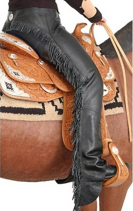 Sexy motorcycle chaps