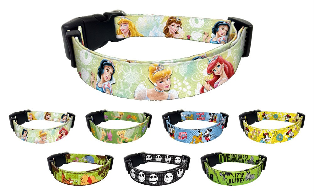 Mickey Mouse Dog Collar And Leash