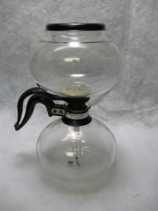 1940s Proctor Silex Lox-In Glass Coffee Pot Pyrex H-71
