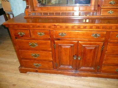Link Taylor Colonial Pine Dresser With Mirror Lexington
