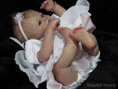 Reborn Vinyl 23 Inch Doll Kit Baby Eden Marissa May