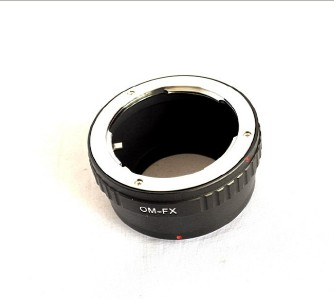 Olympus OM Mount to Fujifilm x Pro1 x E1 Lens Mount Adapter FX Mount