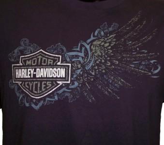 Harley Davidson Las Vegas Dealer Tee T Shirt BLACK MEDIUM #TSX