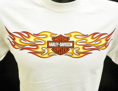 Harley Davidson Las Vegas Dealer Tee T Shirt WHITE MEDIUM #DXTS