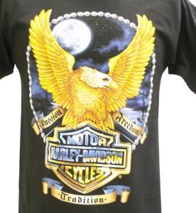 Harley Davidson Las Vegas Dealer Tee T Shirt BLACK MEDIUM #BRAVA1