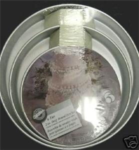 tier wilton 2 round cake pan set 2105 2101 wedding anniversary ebay