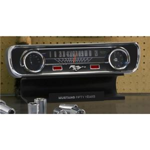 1965 Mustang Dashboard Desktop Sound Clock Thermometer Limited Edition