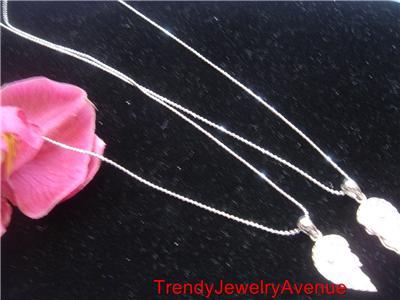 Necklaces Pink heart BFF Best friend friendship