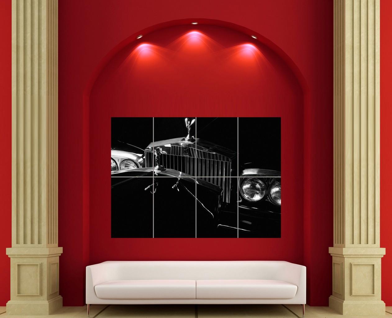 ROLLSROYCE ART GIANT POSTER PICTURE PRINT X...