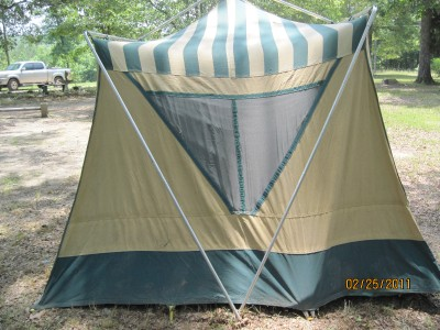 Sears Canvas Tent http://www.ebay.com/itm/Vintage-Canvas-Cabin-Tent-6-8-person-Sears-Hillary-GUC-/140552814391