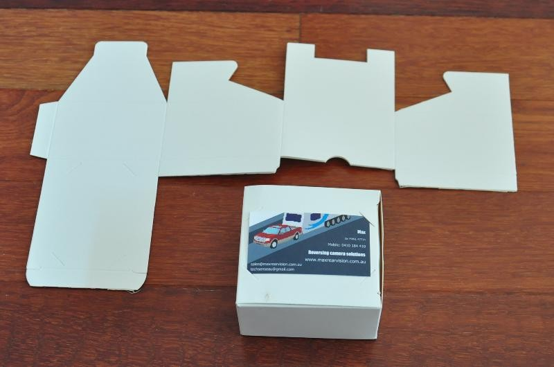 30pcs business card box Gift box holds 250 STD cards