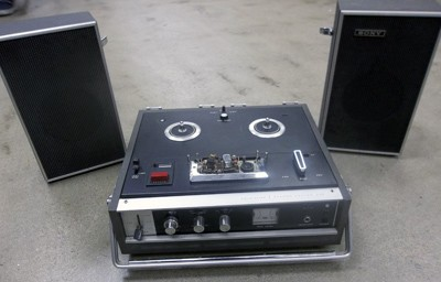 7 reel to reel tape player