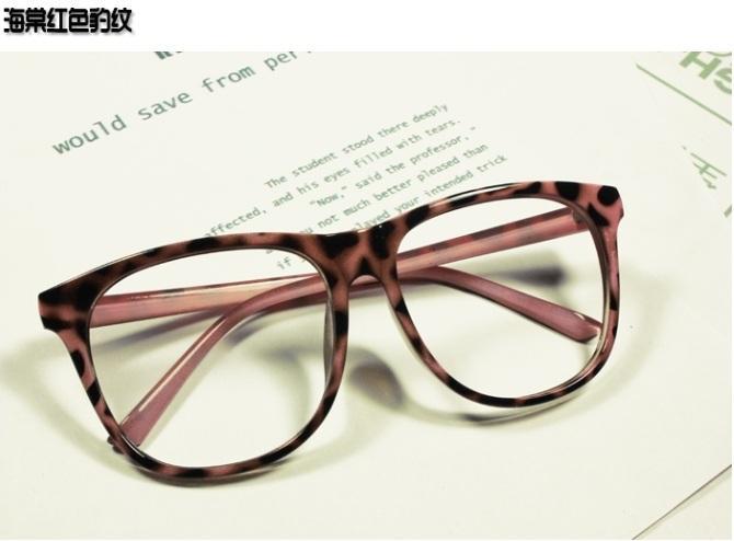 Glasses Frames No Lenses : Unisex Retro Designing Black Glasses Frames Accessories NO ...
