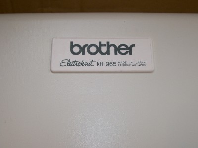 If You Have A Brother Electronic Knitting Machine, This Is