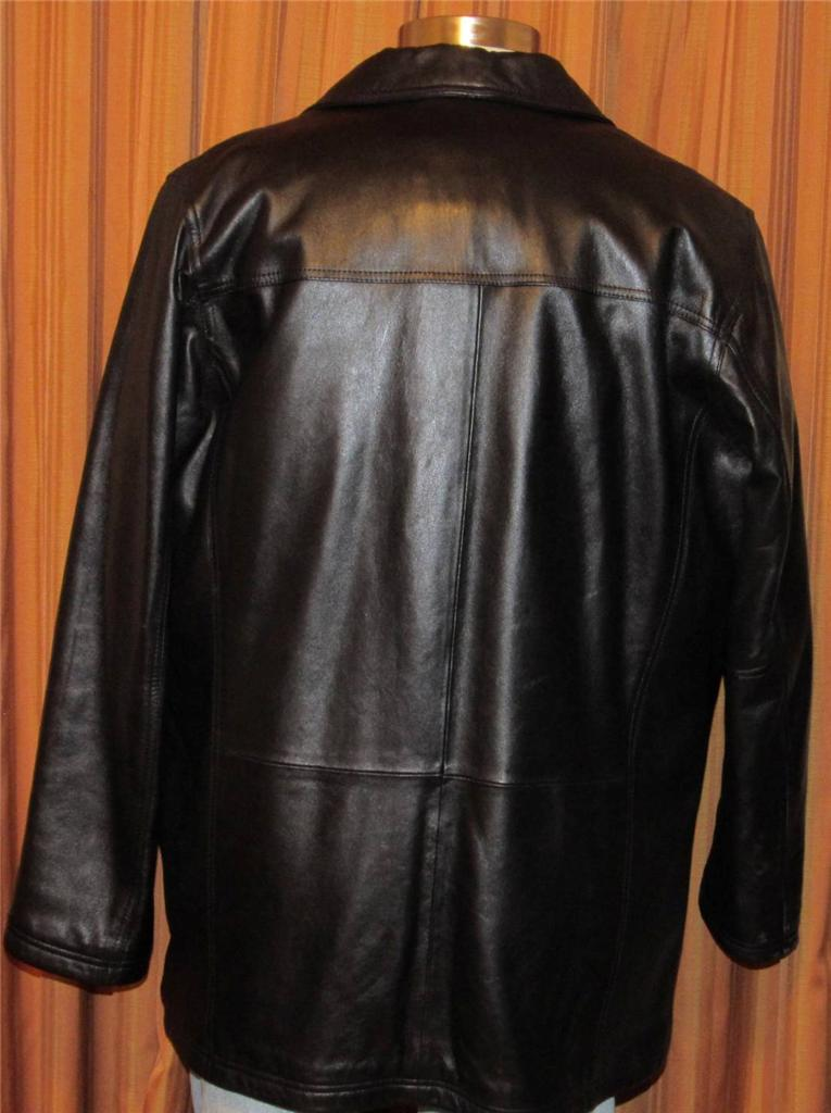 For sale today is a Pelle Studio leather jacket. The jacket is a flat black design, medium in size, and does have wear and tear which has been shown in he pictures.