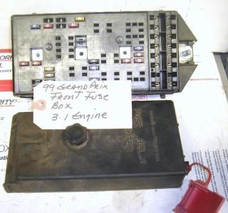 2000 grand prix fuse box 1997 2000 pontiac grand prix front fuse box ebay #1