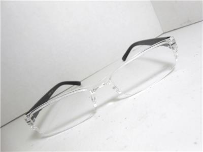 Rimless Glasses Durability : Womens Rimless Lightweight Reading Glasses & Case CHOOSE ...